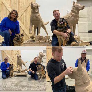 Funding a bronze Sculpture By Austin Weishel