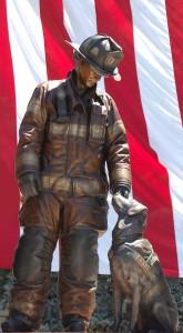 Arson Dog Bronze Sculpture By Austin Weishel